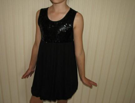 платье-сарафан  в школу,с паетками. Херсон. фото 1