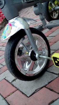 Прочный и удобный трехколесный велосипед с функцией прогулочной коляски! Велоси. Василівка, Запорізька область. фото 7