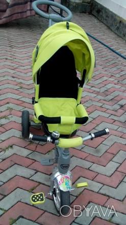 Прочный и удобный трехколесный велосипед с функцией прогулочной коляски! Велоси. Василівка, Запорізька область. фото 1