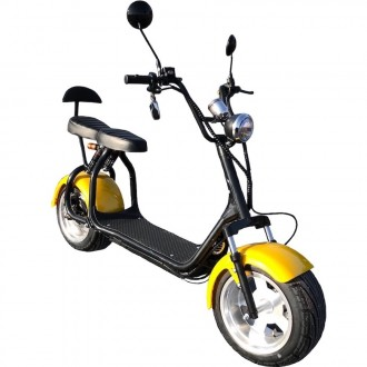 Большой электросамокат / Электроскутер CityCoco Ride Pro. Запорожье. фото 1