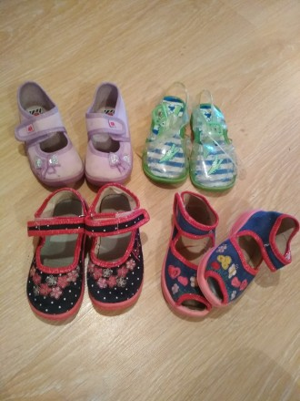 Летняя обувь для девочки. Очень удобные в носке, легкие. Состояние хорошее. Цена. Черновцы, Винницкая область. фото 6