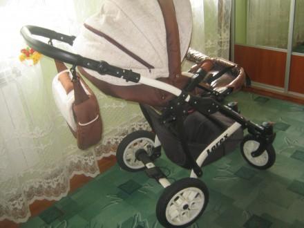 Продам польську дитячу коляску LOREX 3 в 1.. Пустомыты. фото 1
