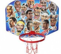 Баскетбольное кольцо мини диаметр 21см щит,сетка,мяч 11см,игла,в сетке. Днепр. фото 1