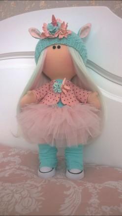 Продается интерьерная кукла ручной авторской работы.. Львов. фото 1