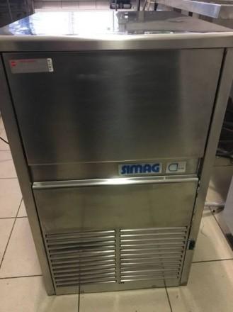 Льдогенератор б у Simag SD 60 WS для кафе бара ресторана. Киев. фото 1