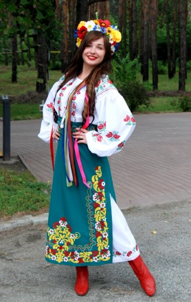 Украинские национальные костюмы. Днепр. фото 1