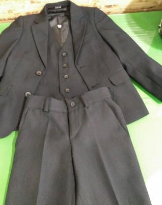 Школьный костюм для мальчика (школьная форма) тройка.. Киев. фото 1