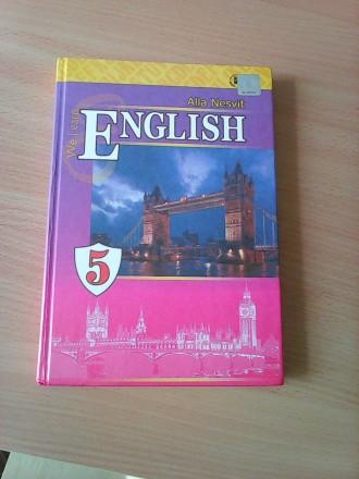 Учебник Підручник Английский язык 5 класс Несвит А.. Конотоп. фото 1