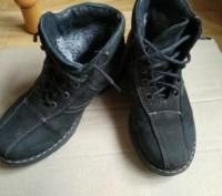 Продам ботинки зимние на мальчика кожа 34 размер, по стельке 21cм.. Харьков. фото 1