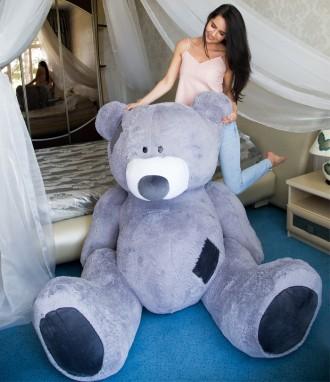 Плюшевый мишка медведь мягкая игрушка Гриша 250см 7 ЦВЕТОВ. Днепр. фото 1