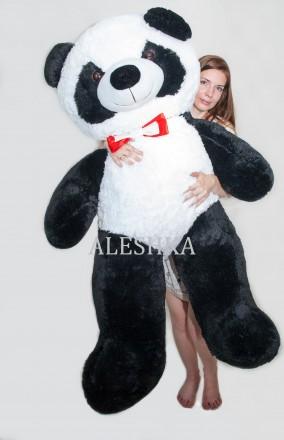 Плюшевый медведь мягкий мишка Teddy bear Panda игрушка Панда 165 см. Днепр. фото 1