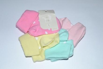 Носки Mothercare от 0 до 6 месяцев для девочки будут дольше. Чаплинка. фото 1