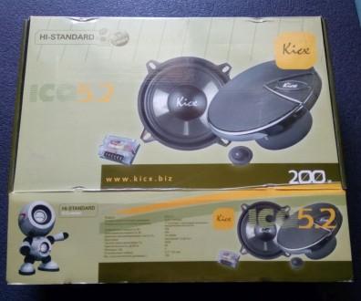 Продам Акустическую систему Kicx ICQ 5.2  Продам новую Акустическую систему Kic. Киев, Киевская область. фото 2