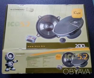 Продам Акустическую систему Kicx ICQ 5.2  Продам новую Акустическую систему Kic. Киев, Киевская область. фото 1