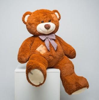 Плюшевый мишка мягкая игрушка медведь c латками 150 см ДВА цвета. Днепр. фото 1