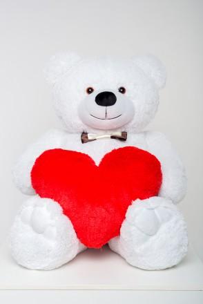 Плюшевый мишка медведь мягкая игрушка Teddy bear 130 см ТРИ ЦВЕТА. Днепр. фото 1