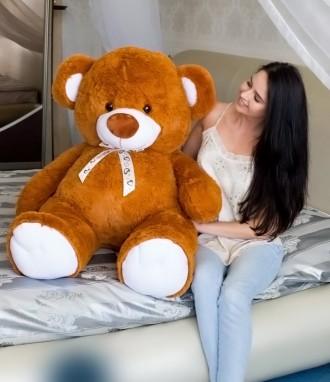 Мягкая игрушка плюшевый медведь мишка Томми 150см 8 ЦВЕТОВ. Днепр. фото 1