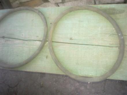 Продам 7 резиновых уплотнительных колец для крышки алюминиевой фляги на 50 литро. Лисичанск, Луганская область. фото 2