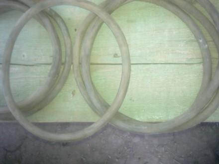 Продам 7 резиновых уплотнительных колец для крышки алюминиевой фляги на 50 литро. Лисичанск, Луганская область. фото 4