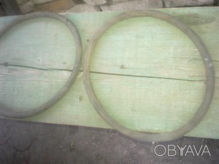 Продам 7 резиновых уплотнительных колец для крышки алюминиевой фляги на 50 литро. Лисичанск, Луганская область. фото 1