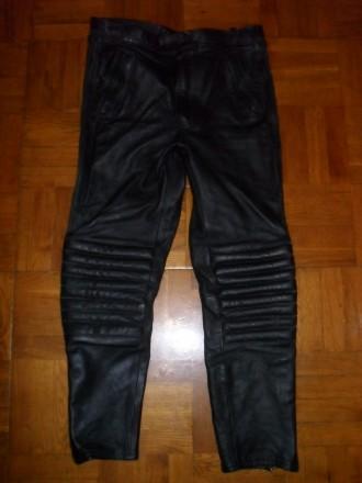 Мото брюки EUROX ( Германия ) кожаные , размер 54-56 ( XL ). Киев. фото 1
