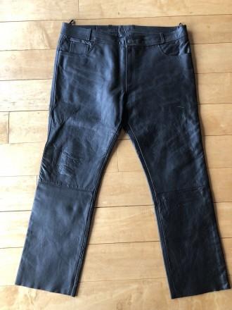 Брюки мужские кожаные  Higway , размер  58/60. Киев. фото 1