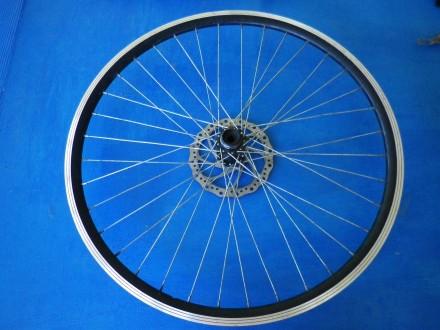 Заднє колесо, обод з тормозним ротором, диском та втулкою. Чернигов. фото 1