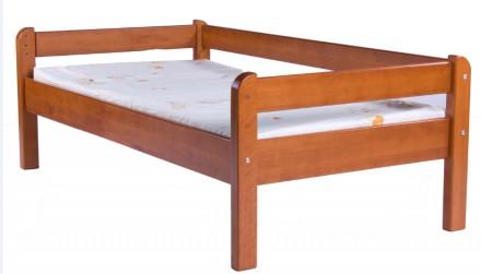Кровать детская подростковая Эконом натуральное дерево.. Запорожье. фото 1