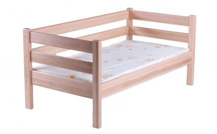 Кровать детская подростковая Нотка.натуральное дерево ольха.. Запорожье. фото 1