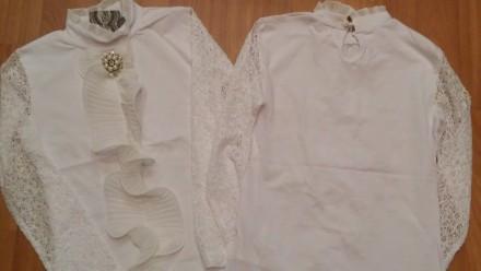 Школьные  красивые  блузы  из Турции.. Лисичанск. фото 1