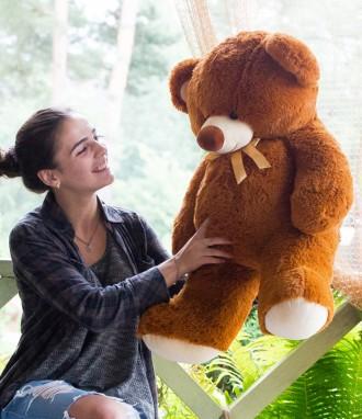 Мягкая игрушка плюшевый мишка медведь Томми 100см 7 ЦВЕТОВ. Днепр. фото 1