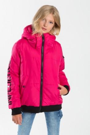 Reporter Young демисезонная куртка для девочек Fluo Influencer. Одесса. фото 1