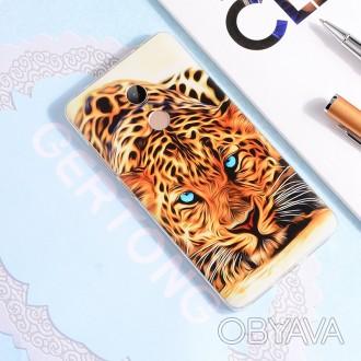 Чехол для Xiaomi Mi Max 2 - Леопард