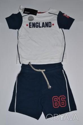 86b7b4c2d78138 ᐈ Костюм шорты и футболка на мальчика 1-2 года, смотрите замеры ᐈ ...