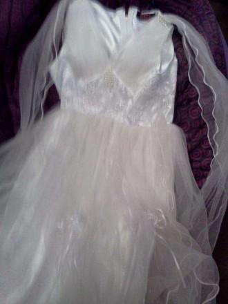 красивое детское платье. Бердянськ. фото 1