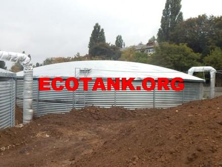 Подземные стальные резервуары 200 м3(кубов). Киев. фото 1