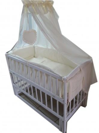 Новый комплект для сна! Лучшее качество! Кроватка, матрас, постель. Харьков. фото 1