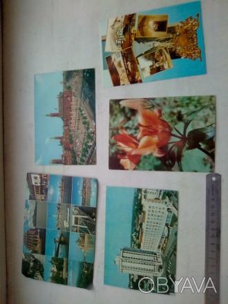 Продам зарубежные открытки 40-60-х годов