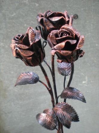 кованые цветы. Бахмач. фото 1