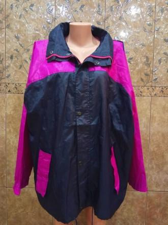 Куртка вітровка великого розміру. Унісекс. Александрия. фото 1