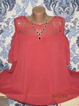 Красивая блуза с оголенными плечиками. Александрия. фото 1
