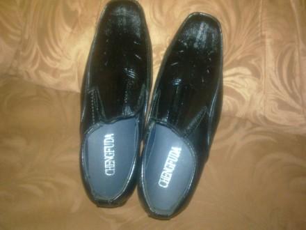 Продам новые качественные туфли на мальчишку 30 размера. Лисичанск. фото 1
