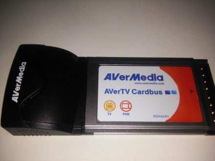Тюнер Aver Media E-500 для ноутбука. Киев. фото 1