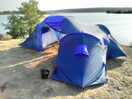 Палатка туристическая на 9 мест. Днепр. фото 1
