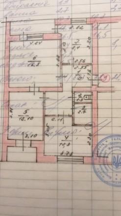 3 кімнатна квартира чешка, в центрі. 64 м2 плюс гараж. Бердичев. фото 1