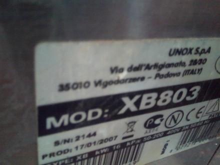 Пароконвектомат б/у Unox XB 803 Печь кондитерская 10 уровней, Киев. Киев. фото 1