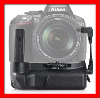 Батарейный блок (рукоятка, бустер, grip) для Nikon D5100 D5200 D5300. Одесса. фото 1