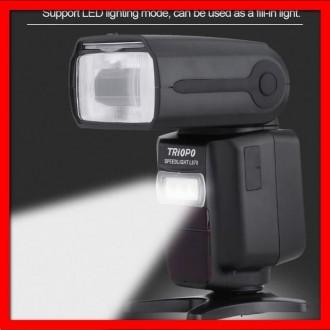 TTL вспышка для Nikon/Canon TRIOPO L870 с 1/8000 и Master- ОРИГИНАЛ. Одесса. фото 1