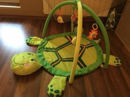 Развивающий Детский коврик с черепахой. Харьков. фото 1
