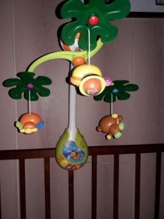 Мобиль Веселый остров Huile Toys. Николаев. фото 1